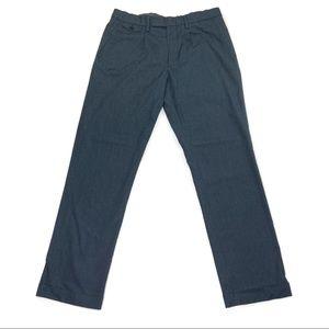 J Crew Wallace Barnes Mens Dark Grey Pants 32x29